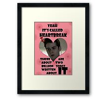 Happy Wolflantine [Stiles Stilinski] Framed Print