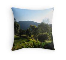 Swaziland Landscape Throw Pillow