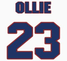 Basketball player Ollie Mack jersey 23 by imsport