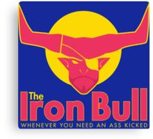 Iron Bull Energy Canvas Print