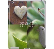 Peace  - JUSTART ©  iPad Case/Skin