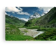 Early summer in Ochsental, Austria Canvas Print