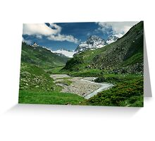 Early summer in Ochsental, Austria Greeting Card