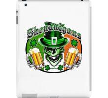 Irish Leprechaun Skull 2: Shenanigans iPad Case/Skin
