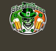 Irish Leprechaun Skull 2: Shenanigans Unisex T-Shirt