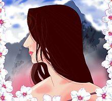 Samurai Beauty - Bushido Style by Alejandro  Valle