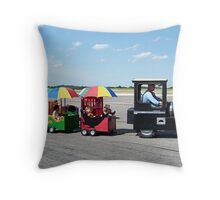 Come On Ride The Train Throw Pillow