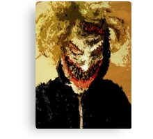 The Clown Prince Selfie Canvas Print