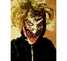 The Clown Prince Selfie Photographic Print