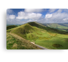 Rushup Edge, viewed from Mam Tor Canvas Print