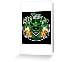 Leprechaun Skull 1: Shenanigans 2 Greeting Card