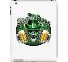 Leprechaun Skull 1: Shenanigans 2 iPad Case/Skin