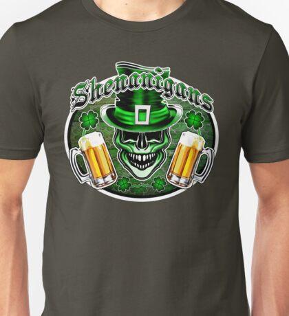 Leprechaun Skull 1: Shenanigans 2 Unisex T-Shirt