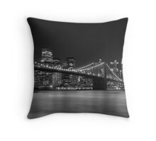 Down Town - New York Throw Pillow