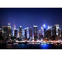 New York Blues  Photographic Print