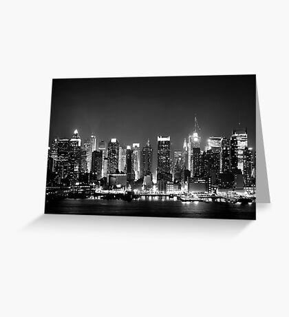 West Side Story - New York  Greeting Card