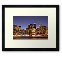 Movin On Up - To the East Side Framed Print