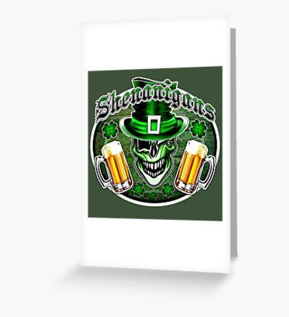 Leprechaun Skull 2: Shenanigans 2 Greeting Card