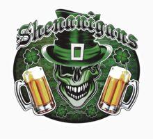 Leprechaun Skull 2: Shenanigans 2 Kids Tee