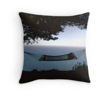 Time to relax, hammock style. Throw Pillow