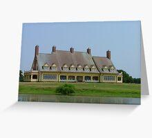 Whalehead Inn Greeting Card