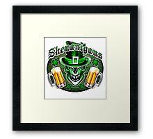 Leprechaun Skull 3: Shenanigans 2 Framed Print