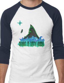 The Coast of Sharks Men's Baseball ¾ T-Shirt