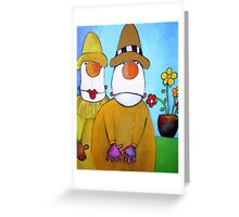 MR AND MRS POTTS Greeting Card
