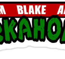 Workaholics - Teenage Mutant Ninja Turtles Logo Sticker