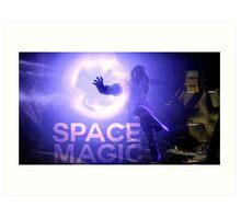 Destiny Space Magic Art Print