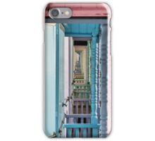 Beach Huts, Mersea Island  iPhone Case/Skin
