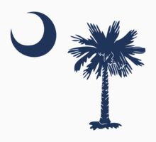Blue Palmetto Moon by Carolina Swagger
