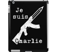 Je suis Charlie #2 iPad Case/Skin