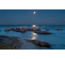Moon Shine Photographic Print