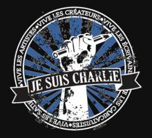 Je Suis Charlie-In Black by fcdesignco