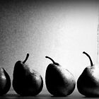 Petulant Pears by Marcia Luly