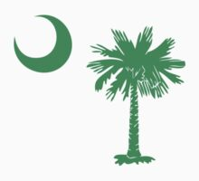 Green Palmetto Moon by Carolina Swagger