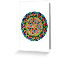 Rainbow Burst Greeting Card