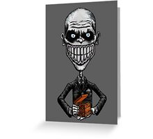 Buffy - The Gentlemen I Greeting Card