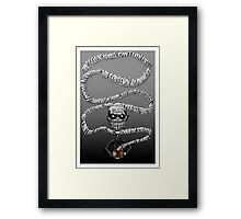 Buffy - The Gentlemen  Framed Print