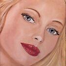 Blue eyed Girl by Susan van Zyl