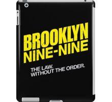 Brooklyn Nine-Nine Logo & Slogan iPad Case/Skin