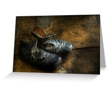 Worn out shoes Greeting Card