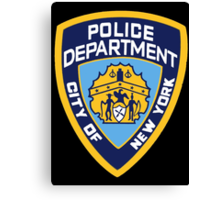 NYPD Badge (Also from Brooklyn 99) Canvas Print