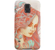 Filigree Face Samsung Galaxy Case/Skin