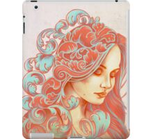 Filigree Face iPad Case/Skin