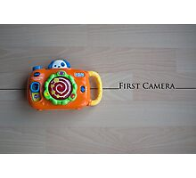 My First Camera Photographic Print