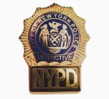 NYPD Detective Badge T-Shirt