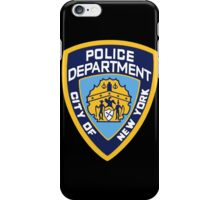 NYPD Badge (Also from Brooklyn 99) iPhone Case/Skin