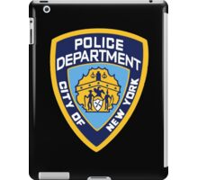 NYPD Badge (Also from Brooklyn 99) iPad Case/Skin